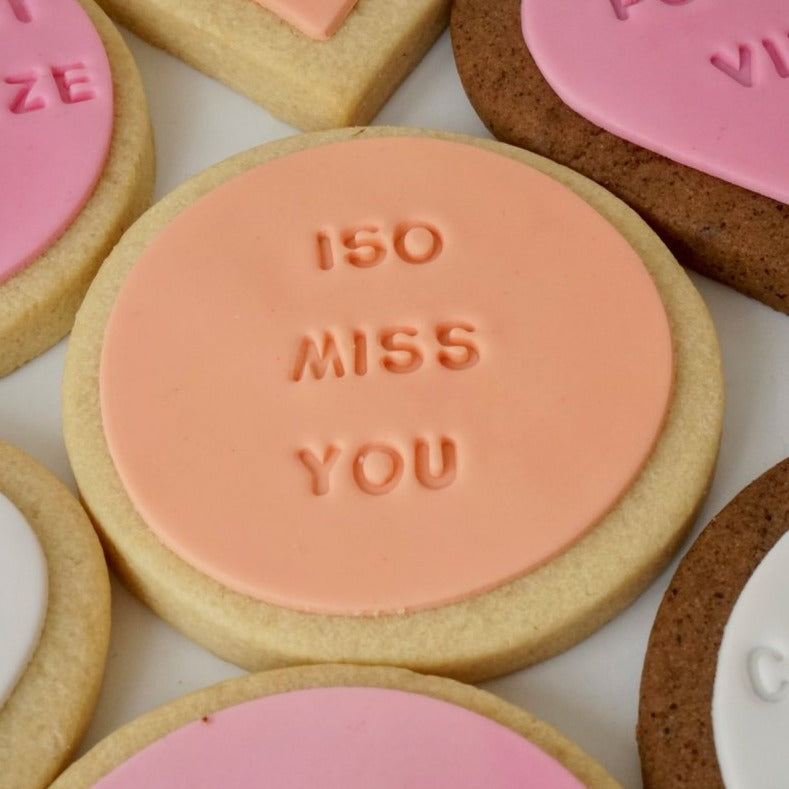 iso miss you covid gift cookie melbourne delivered