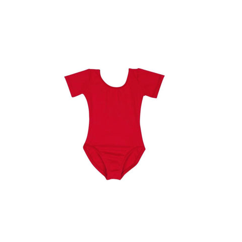 Apple Red leotard