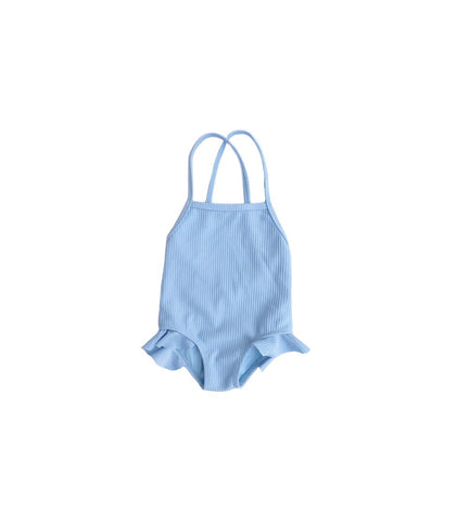 Baby blue one piece leotard