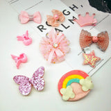 10pc Ballet hair clips