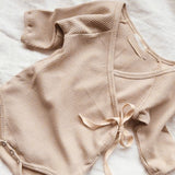 Long sleeve baby leotard