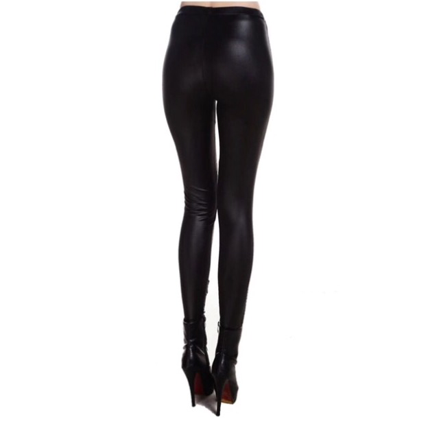 Rae Leather Leggings - Haus Of Layers - 4