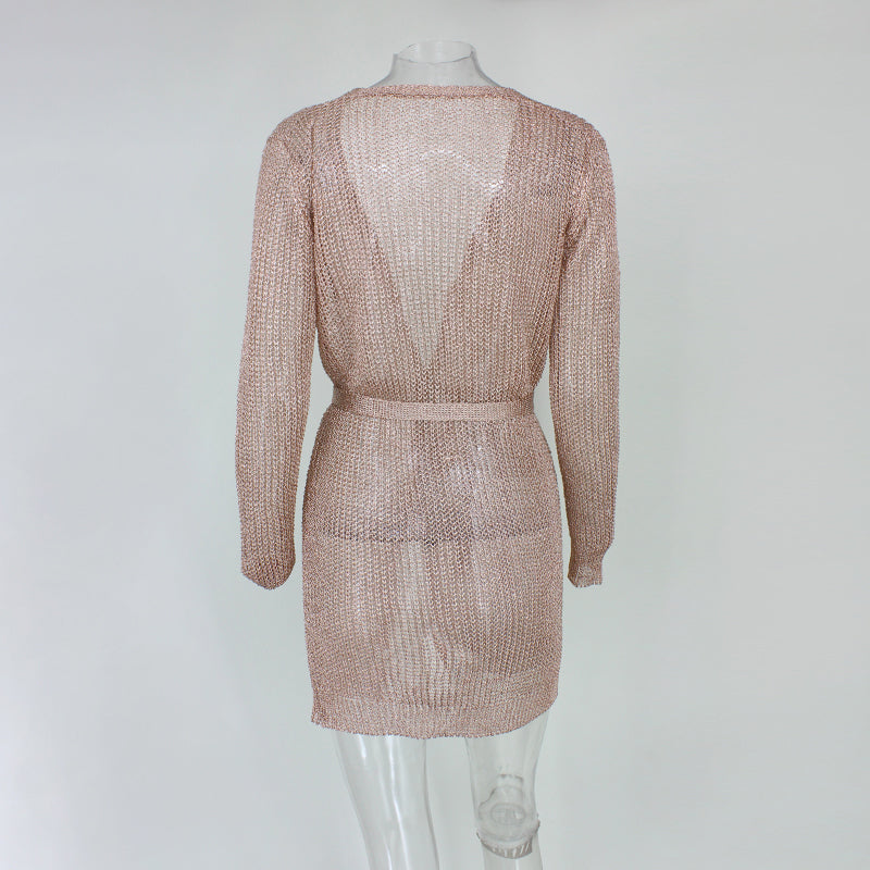Cathy Dress - Rose gold