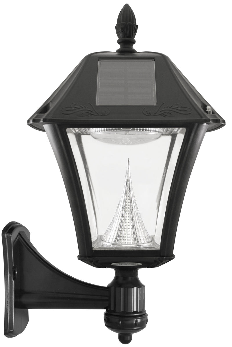 "Gama Sonic Baytown II Solar Light with Wall/Post/3"" Fitter Mount - YourGardenStop"