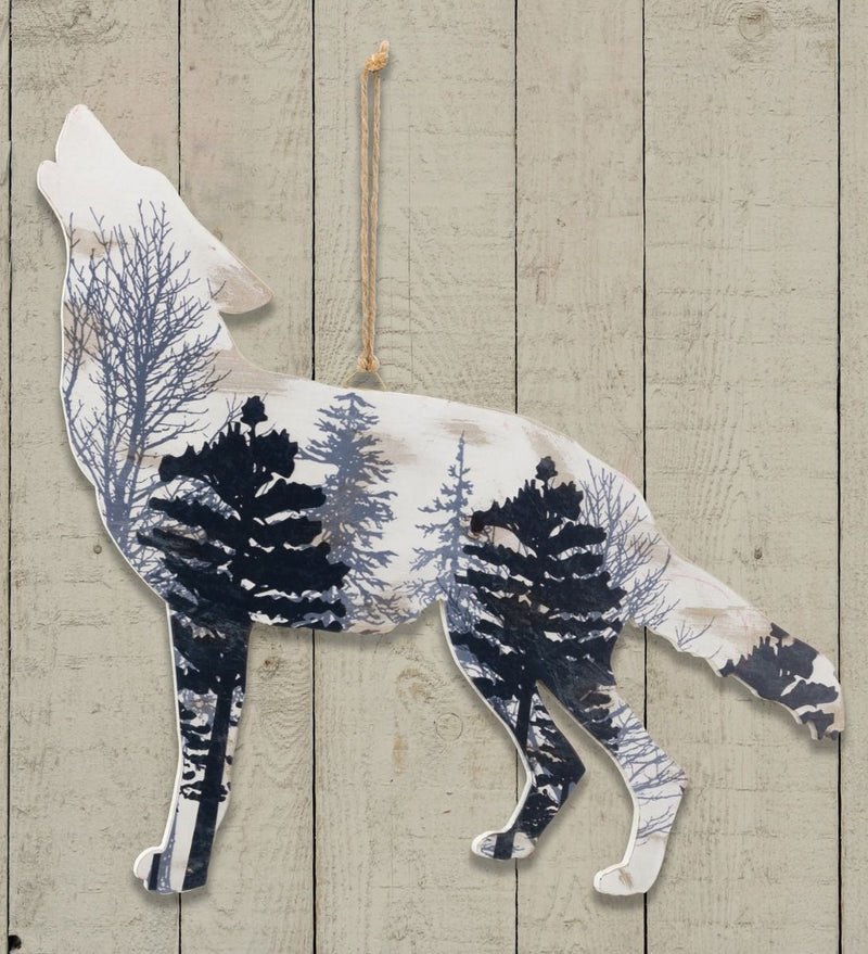 Lodge Wall Decor - Wolf by Regal Arts - YourGardenStop