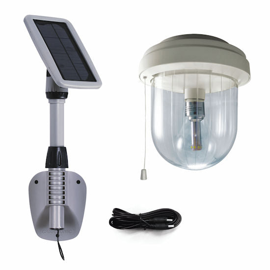 Gama Sonic Light My Shed IV – Solar Shed Light - YourGardenStop