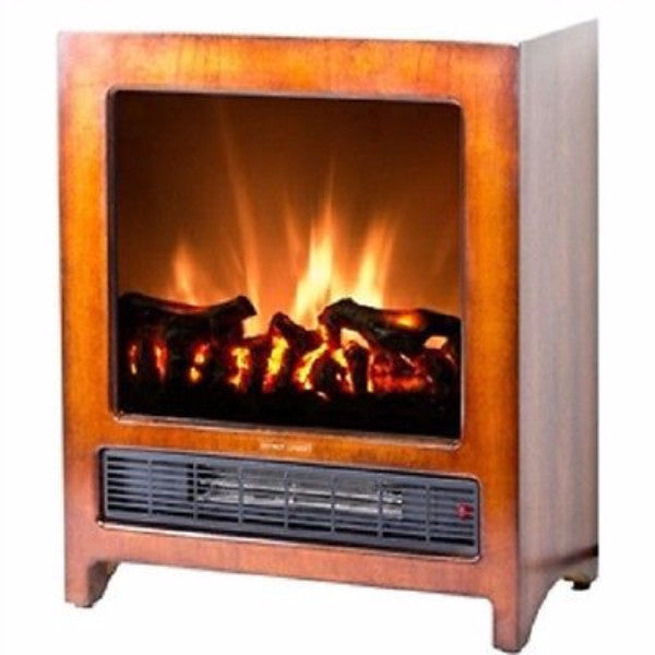 Modern Freestanding Electric Fireplace Space Heater - YourGardenStop
