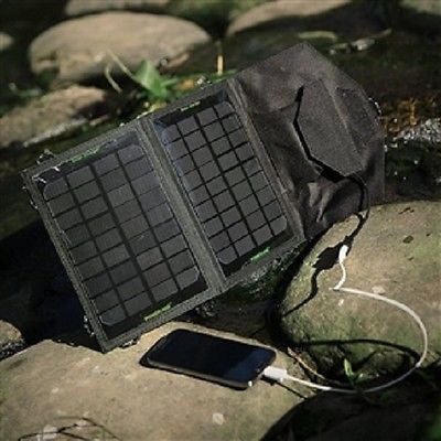 7-Watt Folding Solar Panel Battery Charger - YourGardenStop