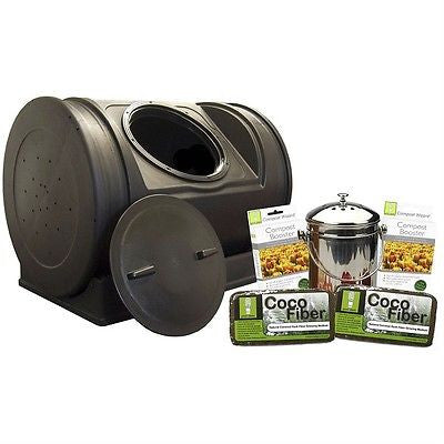 52-Gallon Compost Bin Starter Kit - Made in USA - YourGardenStop