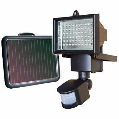Outdoor 60 LED Solar Motion Light - No Wiring Required - YourGardenStop
