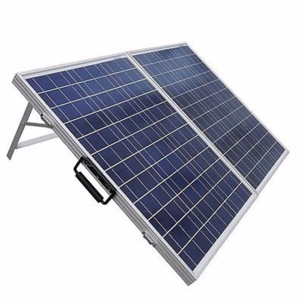 100 Watt Portable Solar Panel 12V Battery Charger - YourGardenStop