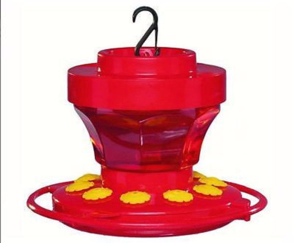 16 oz Hummingbird Flower Feeder - YourGardenStop