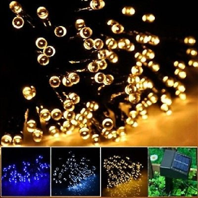 Solar LED String Light 55ft Ambiance Christmas Lights - YourGardenStop