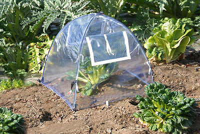 "NuVue GreenHouse Framed Clear PVC (22"" or 28"") - YourGardenStop"