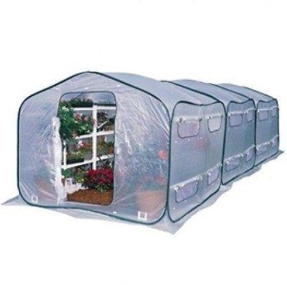 Farm-House Home Garden UV Resistant Greenhouse (9' x 9') - YourGardenStop