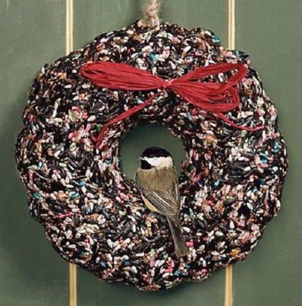 Birdie Wreath Christmas or Birdie Wreath Spring/Summer - YourGardenStop