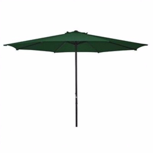 9 Foot Patio Umbrella with Dark Green Shade - YourGardenStop
