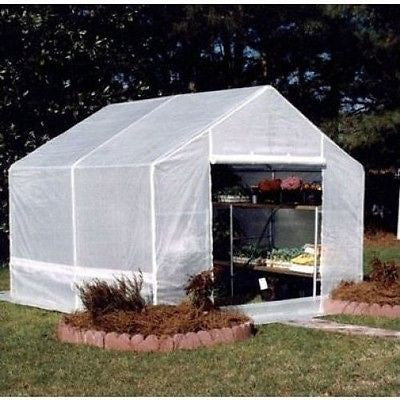Royal Canopy Complete Greenhouse (10' x 10') - YourGardenStop