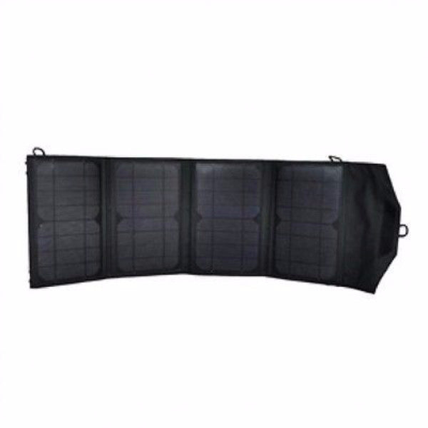 27W Folding Solar Panel Batter Charger with 12V Output - YourGardenStop