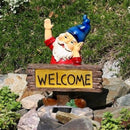 Solar Powered Gnome Welcome Light for Patio Yard Garden - YourGardenStop