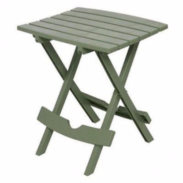 Sage Green Patio Side Table - Holds up to 25-Pounds - YourGardenStop