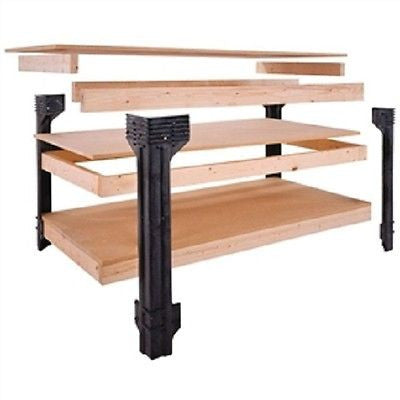 Workbench Shelving Unit Potting Bench Storage System - YourGardenStop
