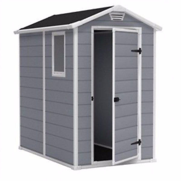 Top Ventilated Plastic Shed-Lawn, Garden & Tool Storage - YourGardenStop