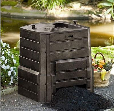 Home Garden Composter 86 Gallon Compost Bin with Locking Self-Watering Lid - YourGardenStop