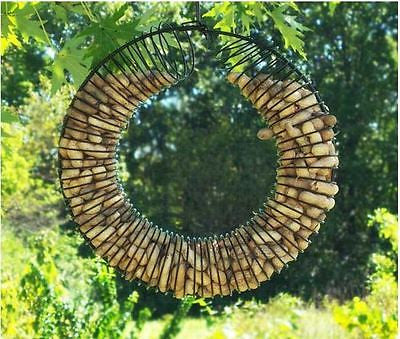 Whole Peanut Wreath Ring (Red or Black) - YourGardenStop