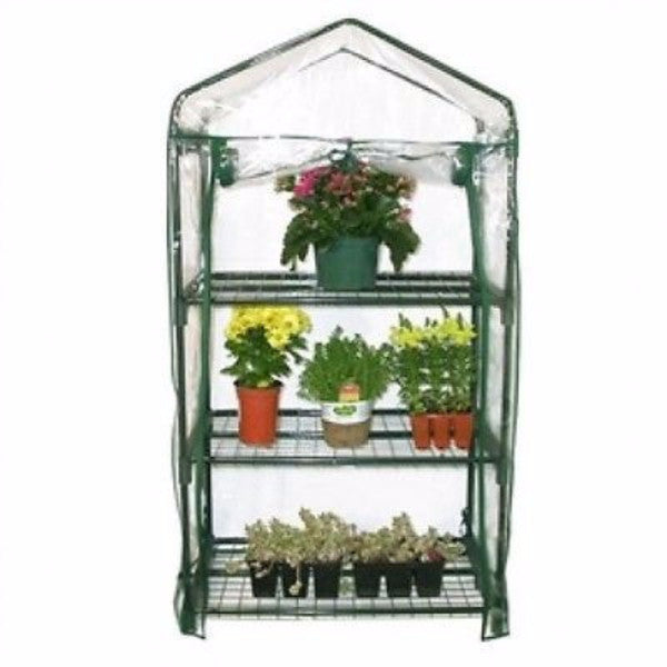 3-Tier Growing Stand Greenhouse with Thermal Cover - YourGardenStop