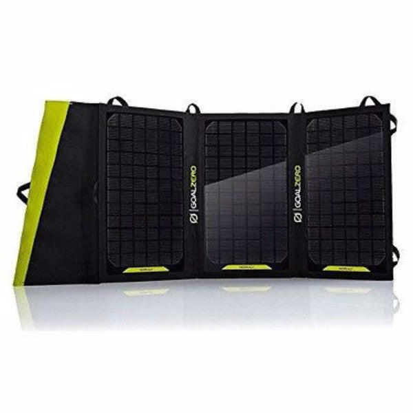 20-Watt Folding Portable Solar Panel Phone Table Battery Charger - YourGardenStop