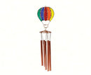 Rainbow Hot Air Balloon Wind Chime - YourGardenStop