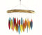 Santa Fe Colors Leaves & Driftwood Glass Chime - YourGardenStop