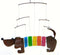 Rainbow Dachsie Metal & Glass Mobile - YourGardenStop
