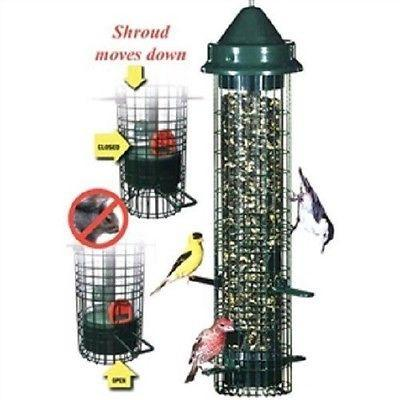 Squirrel-proof Bird Feeder -1.4 Quarts of Bird Seed - YourGardenStop