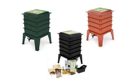 Worm Factory 360 Composting Bin With/Without Worms - YourGardenStop