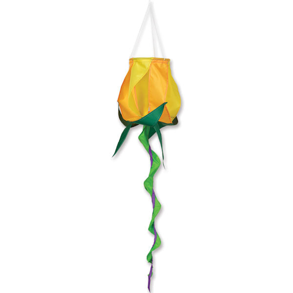 SoundWinds Rose Spinning Windsock ( Yellow, Red, Purple) - YourGardenStop