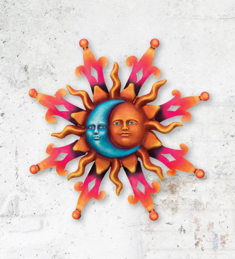 Sun Wall Décor by Regal Arts (Sun, Sun Kiss & Sun/Moon) - YourGardenStop