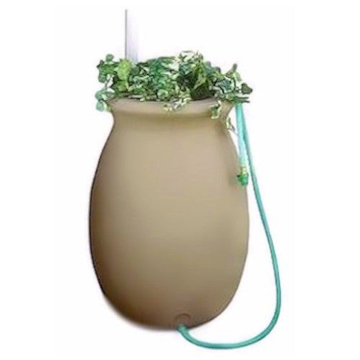 50 Gallon Sandalwood Color Rain Water Collection System - YourGardenStop