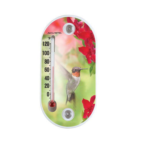 8 inch Acurite Suction Cup Thermometers (Variety) - YourGardenStop