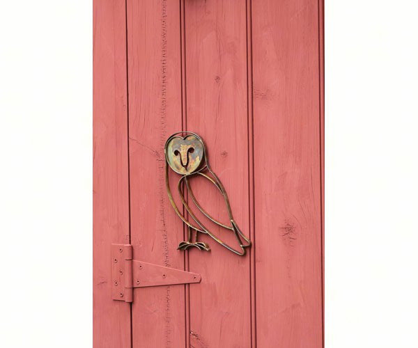 Barn Owl Wall Mount by Ancient Graffiti - YourGardenStop