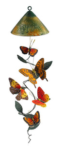 Solar Powered Realistic Fabric Butterfly Spinning Vine - YourGardenStop