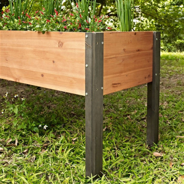 Elevated Outdoor Raised Garden Bed Planter Box 70 X 24 X 29 In High