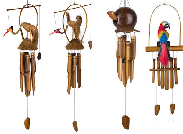 Woodstock Chimes Animal Bamboo Chimes (Various Styles)