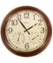 "18"" Wall Clock with Thermometer/Hygrometer (Antique Copper) - YourGardenStop"