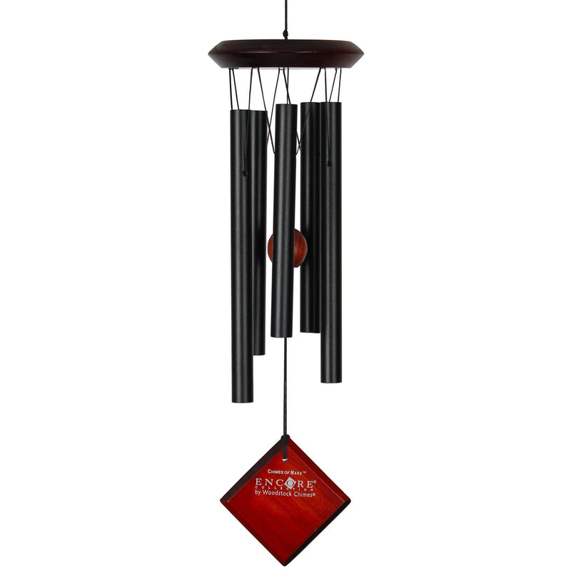 Woodstock Chimes the Planets Black (Pluto, Earth, Saturn & Mars) - YourGardenStop