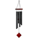 Woodstock Chimes the Planets Black (Pluto & Earth) - YourGardenStop
