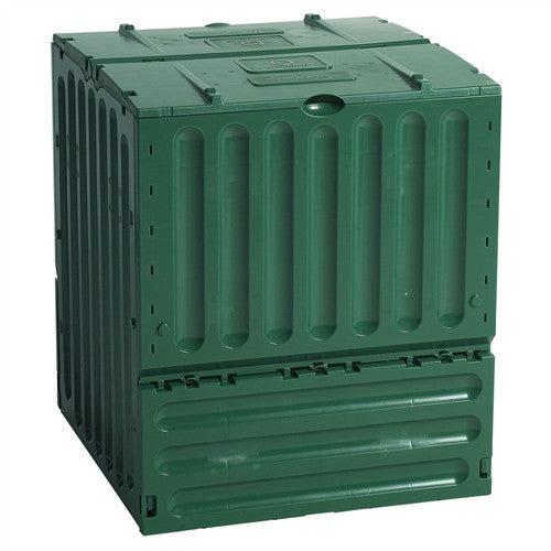 110-Gallon Recycled Plastic Compost Bin - Green - YourGardenStop