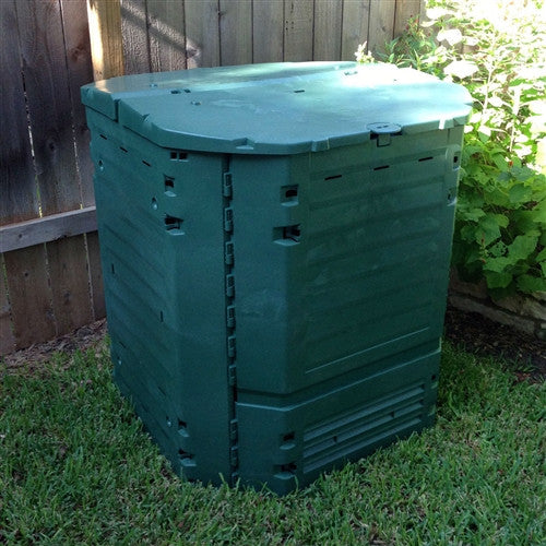 Heavy Duty Plastic 32-Cubic ft. Home Compost Bin Composter