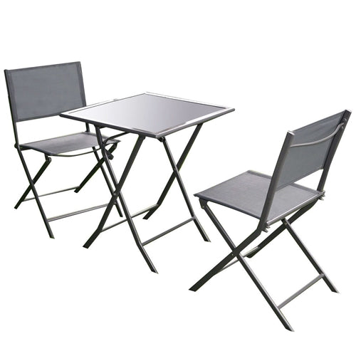 Outdoor 3-Piece Patio Furniture Folding Table Chair Set  sc 1 st  YourGardenStop & Outdoor Living - Patio Furniture Sets
